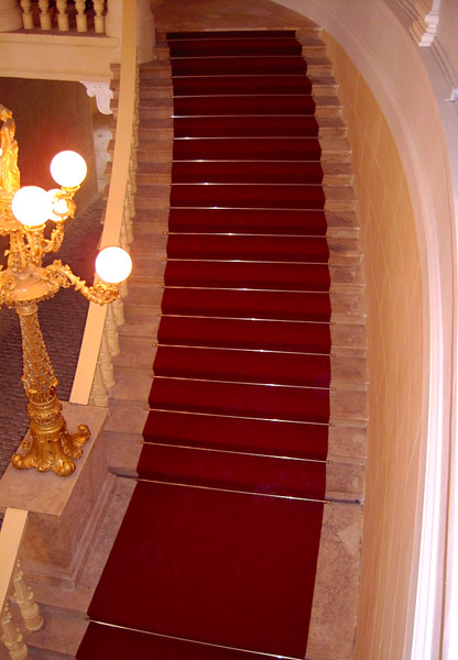 Teppichläufer Treppe referenzen der firma stm sächsische teppichmanufaktur gmbh aus