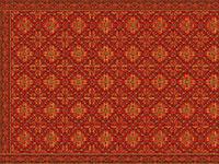 fertiges Replik vom Teppich aus Lenzen